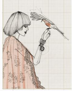 Holland based illustrator Marlise