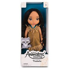 Not much of a Disney fan, but I love their Animators' collection dolls. ESPECIALLY Pocahontas and Jasmine.