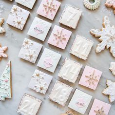 Tomorrow the count down begins! There is still time to purchase our 'Twinkle Twinkle Gingerbread' Luxury Advent Calendar. Available at the Parlour or online for delivery to Central London. Shabby Chic Christmas, Pink Christmas, Winter Christmas, Christmas Home, Xmas, Christmas Feeling, Christmas Snacks, Christmas Baking, Christmas Cookies