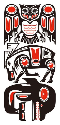 Haida Style Tribal by Takihisa on DeviantArt