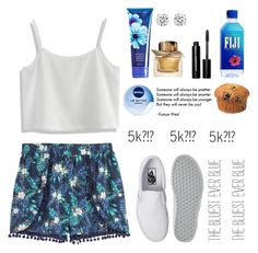 """""""Thank You!"""" by ahriraine ❤ liked on Polyvore featuring H&M, Chicwish, Vans, Nivea, Bobbi Brown Cosmetics and Burberry"""