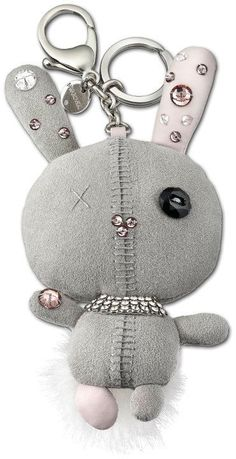 3b40cab15a1 Swarovski - Mathilde Gray Bag Charm - wish I could find this one.