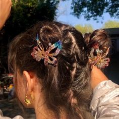 Summer Hairstyles, Trendy Hairstyles, Halloween Hairstyles, Hairstyle Short, Natural Hairstyles, Aesthetic Hair, Hair Day, Hair Looks, Hair And Nails