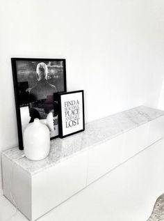 Ikea besta met marmer erop. Foto geplaatst door ptd op Welke.nl