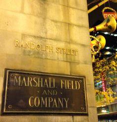 #Marshall Fields#Chicago #Randolph Street