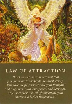 Law of Attraction - attract good things