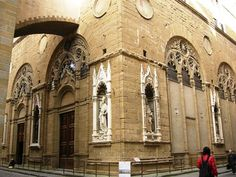 Orsanmichele Church, is one of the oldest churches in Florence: but it is really only a church?