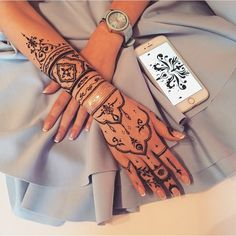« Henna by @veronicalilu »