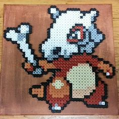 Cubone Pokemon hama beads by hama_freak_artesanias