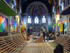Sacred Skateboarding – Church Becomes Kaos Temple - DETAIL-online.com - the portal for architecture