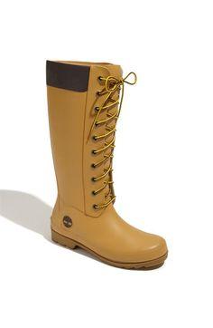 Timberland 'Welfleet' Rubber Boot (Women) available at #Nordstrom  aaaaaaarg gimme nowww