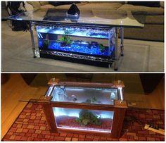 Aquarium Coffee Table   Http://www.diyscoop.com/aquarium