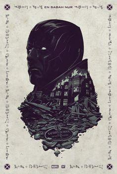 X-Men: Apocalypse -- Poster design by Gravillis Inc. Poster artwork by Justin Erickson.