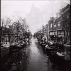 Holga | double exposure (Amsterdam)