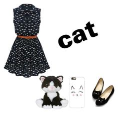 """Cat"" by jamie2005 on Polyvore featuring interior, interiors, interior design, home, home decor, interior decorating and Casetify"