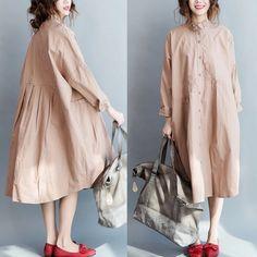 Linen coat women's clothes