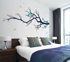 13 ιδέες για να διακοσμήσετε τον τοίχο του υπνοδωματίου!