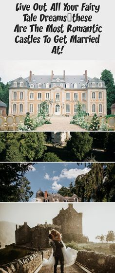 Live Out All Your Fairy Tale Dreams...These Are the Most Romantic Castles to Get Married At! - Green Wedding Shoes #Springgardenwedding #gardenweddingShoes #Fairytalegardenwedding #gardenweddingBouquet #Vintagegardenwedding Got Married, Getting Married, Lyndhurst Mansion, Ashford Castle, Wedding Company, Medieval Castle, Most Romantic, Intimate Weddings, Green Wedding