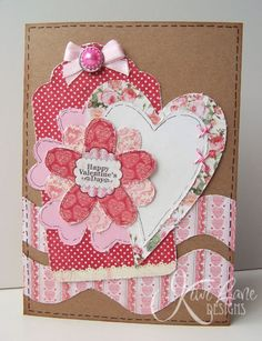4 amazing card ideas with sketches by Gail Owens on the blog today.  Check them out!