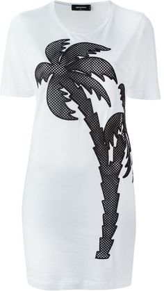 Dsquared2 palm tree dress - $480.00