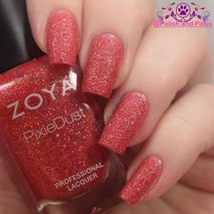 On my nails is 2 super easy coats of Linds from the @zoyanailpolish Seashells collection. This is a beautiful cherry red lighter and brighter than Chyna or Oswin. Beautiful shade!  #zoya #zoyanailpolish #everydayzoya #prsample