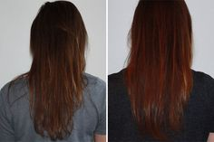 WEN Six Thirteen before and after: http://beautyeditor.ca/2014/06/26/best-cleansing-conditioner/