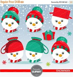 Snowman clipart set! This clipart set is just what you needed for the perfect event & invitation creations, craft projects, paper products, invitations, printable, stationery, scrapbooking, stickers, web designs and much more!  --------------------------------- CONTINUE SHOPPING HERE https://www.etsy.com/shop/Premiumclipart ---------------------------------  WHAT YOU WILL RECEIVE: --------------------------------- - This collection includes 12 clipart elements + digita...