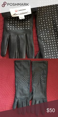 Brian Atwood leather gloves Like new never before worn , rare, and sold out  most places. These buttery soft gloves were a Target/ Neiman Marcus collaboration and so only a few exist. Brian Atwood Accessories Gloves & Mittens