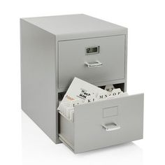 Mini File Cabinet Digital Clock, $14, now featured on Fab.