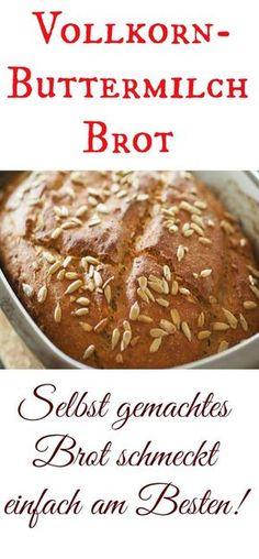 Heute gibt es ein leckeres Vollkorn-Buttermilch Brot für Euch. Und zwar mit leckerem Dinkel- und Roggenvollkornmehl mit ganz vielen Sonnenblumenkernen und Chia. Es ist unheimlich saftig und auch nach einigen Tagen schmeckt es noch sehr gut. Mit und ohne Thermomix herzustellen.