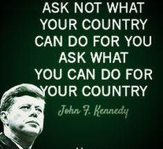 john f kennedy ask what you can do for your country