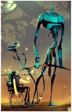 Exquisite Artsy Illustrations by Patricio Betteo