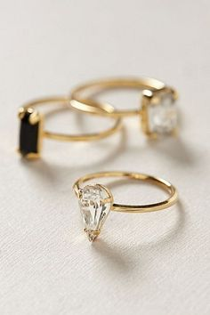 "b-undt: ""astitchinmind: "" Fabulous rings. "" """