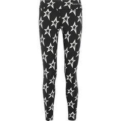 Perfect Moment Printed stretch leggings ($210) ❤ liked on Polyvore featuring activewear, activewear pants and black