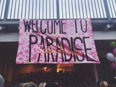 Bid day 2013. Welcome to Paradise #AXO #Oregonstate #BidDay #AlphaChi