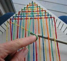 Nail loom tutorial