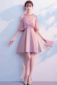 Easy A-Line Prom Dresses, Pink Homecoming Dresses, Short Homecoming Dresses Homecoming Dress A-Line Homecoming Dresses Short Prom Dress Prom Dress Pink Prom Dress Homecoming Dresses 2019 Dresses Short, Pink Prom Dresses, A Line Prom Dresses, Homecoming Dresses, Sexy Dresses, Beautiful Dresses, Fashion Dresses, Cute Dresses, Dress Prom