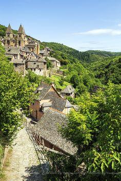 Petite balade en Aveyron : Conques   Yves Queyrel PHOTOGRAPHE