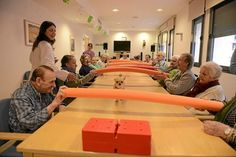 Activities For Dementia Patients, Elderly Activities, Alzheimer's And Dementia, Group Activities, Activity Games, Therapy Activities, Physical Activities, Therapy Ideas, Senior Citizen Activities