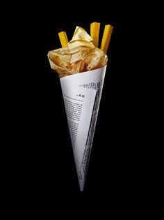 Paper food //Daniel Carlsten