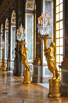 Versailles, France. Hall of Mirrors.