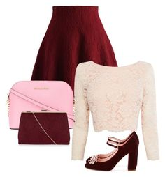 """""""#3"""" by kalpana-blessed ❤ liked on Polyvore featuring Chicwish, Coast, Kate Spade, MICHAEL Michael Kors and New Look"""