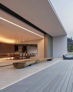 - 58 Stunning Modern Dream House Exterior Design Ideas ⋆ newport-internati… – f - Glass House Design, Modern House Design, Villa Design, Design Hotel, Modern Architecture House, Architecture Design, Home Interior Design, Exterior Design, Modern Exterior