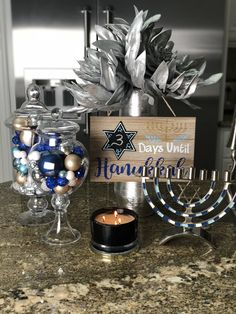 your home into the holiday spirit with these creative Hannukah decor ideas . Get your home into the holiday spirit with these creative Hannukah decor ideas .,Get your home into the holiday spirit with these creative Hannukah decor ideas . Hanukkah Traditions, Jewish Celebrations, Happy Hannukah, Holiday Parties, Holiday Decor, Seasonal Decor, Holiday Ideas, Hanukkah Decorations, Christmas Hanukkah