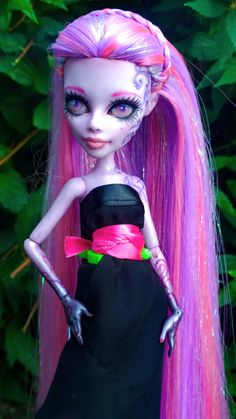 """Aria"" custom OOAK monster high Operetta by @LadySpoonArt"