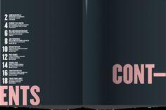 (via #tableofcontents editorial design   Editorial Design   Pinterest) ***Contents/sources