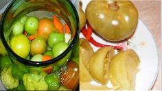 Asa faci cele mai gustoase gogonele murate! Te lingi pe degete  Gogonelele murate sunt muratura perfecta in perioada de iarna. Se pot servi ca garnitura alaturi de orice preparat.  Ingredinte:  ● 2,5 kilograme gogonele,    ● 2 morcovi,  ● 1 mâna Romanian Food, Fermented Foods, Cheesecakes, Preserves, Pickles, Cucumber, Keto, Food And Drink, Canning