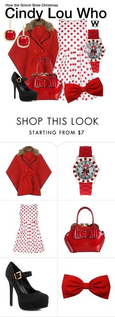 """How the Grinch Stole Christmas"" by wearwhatyouwatch ❤ liked on Polyvore featuring WearAll, Shoe Republic LA, Lauren Ralph Lauren, women's clothing, women, female, woman, misses, juniors and wearwhatyouwatch"