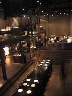 Shanghai Shintori Null II Japanese restaurant interior