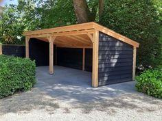 Carport Sheds, Carport Garage, Pergola Carport, Backyard Gazebo, Backyard Sheds, Backyard Patio Designs, Outdoor Pergola, Backyard Projects, Backyard Landscaping